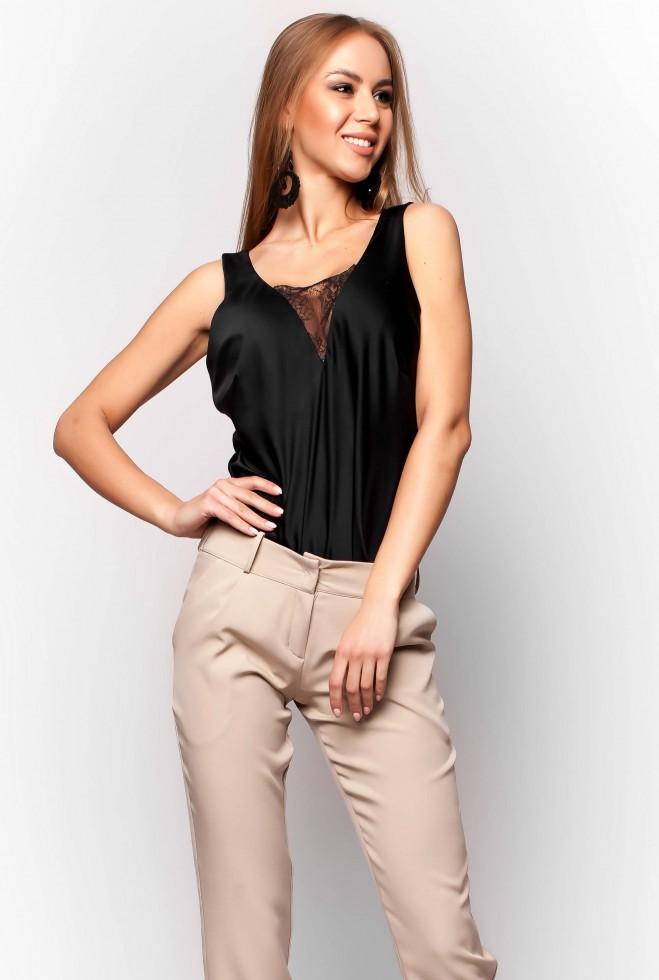Блуза Титу черный