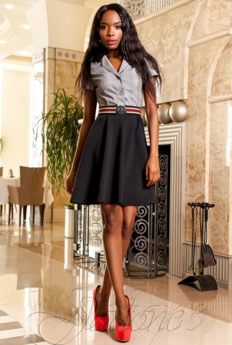 Платье Энира черный