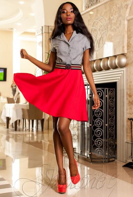 Платье Энира красный