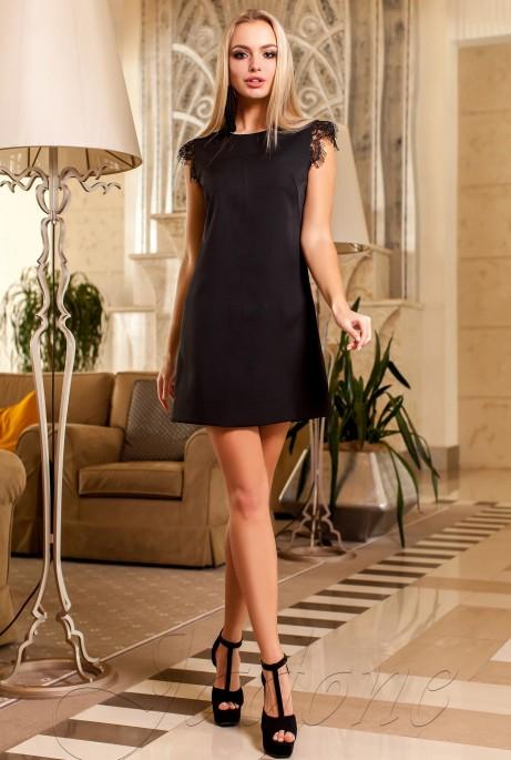 Платье Закира черный