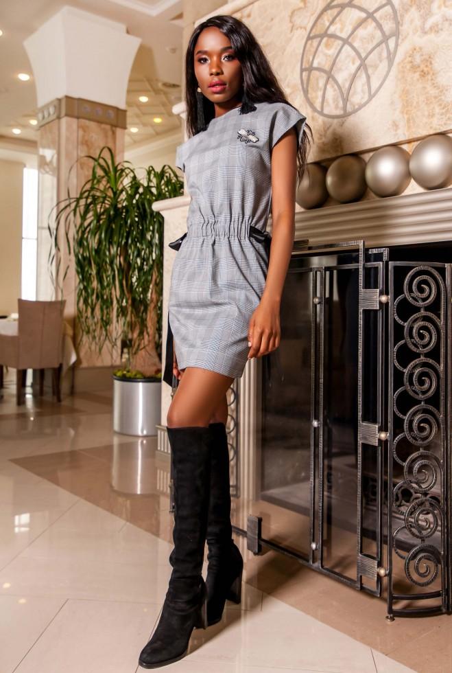 Платье Нордини черный
