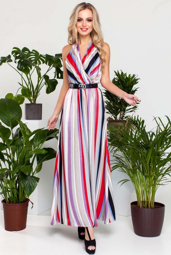 Платье Кейт комбинированный