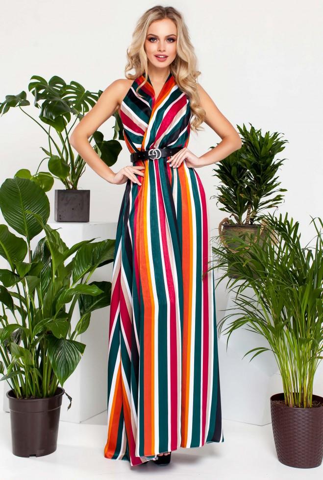 Платье Кейт комбинированный_2