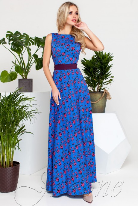 Платье Саритти синий