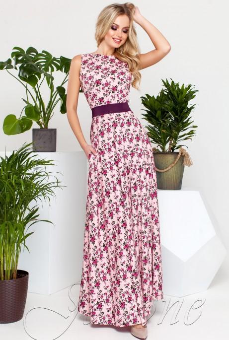 Платье Саритти розовый