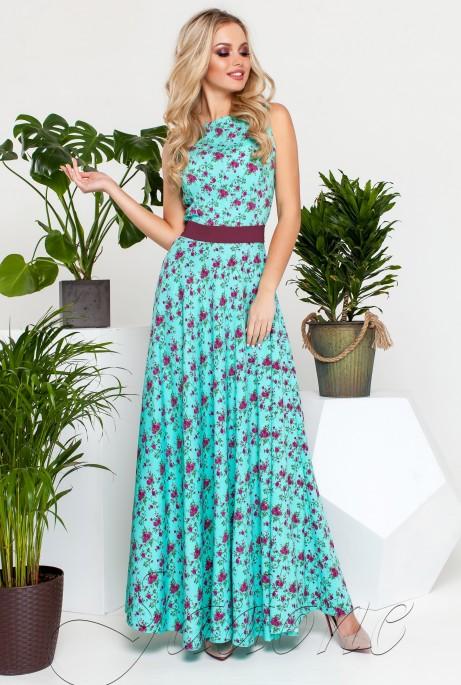 Платье Саритти бирюзовый