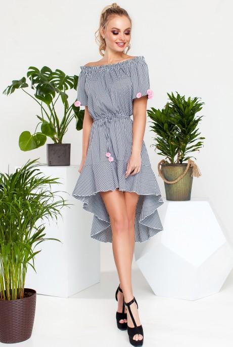 Платье Лаура черный