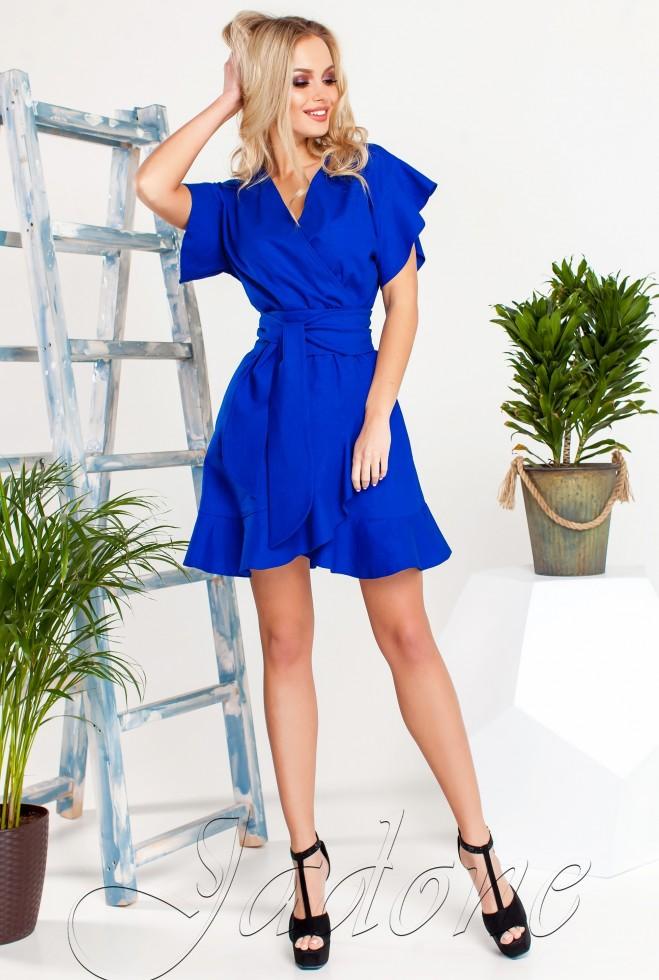 Платье Нарциси синий