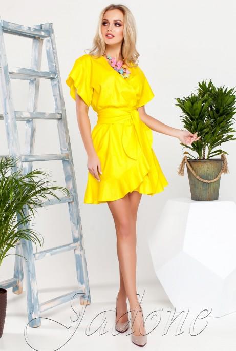 Платье Нарциси жёлтый