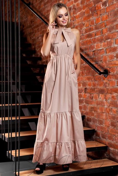 Платье Симбал бежевый