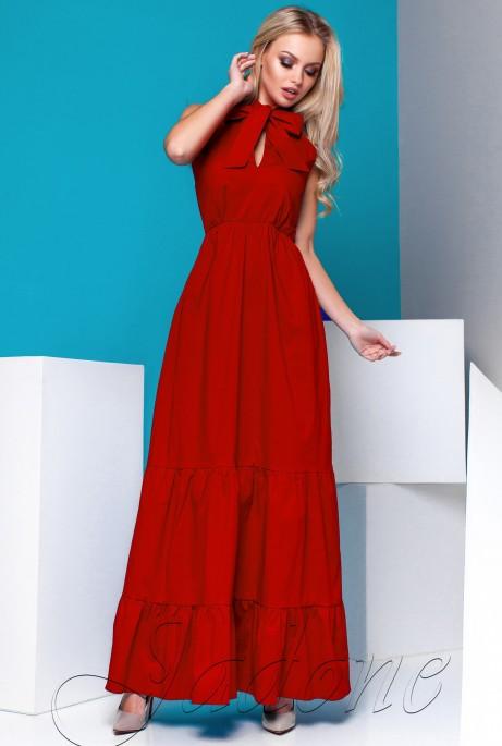 Платье Симбал красный