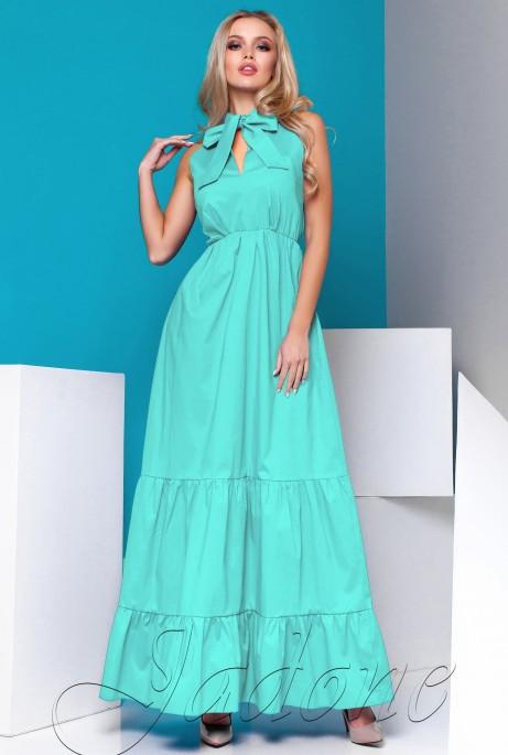 Платье Симбал бирюзовый