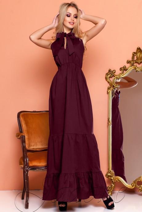Платье Симбал марсала