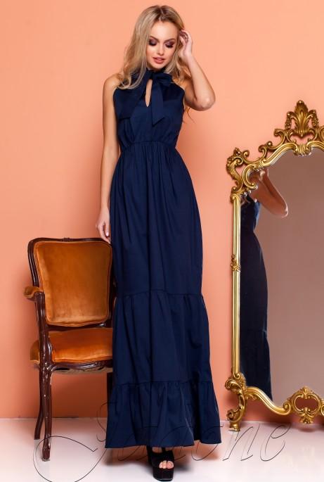 Платье Симбал синий