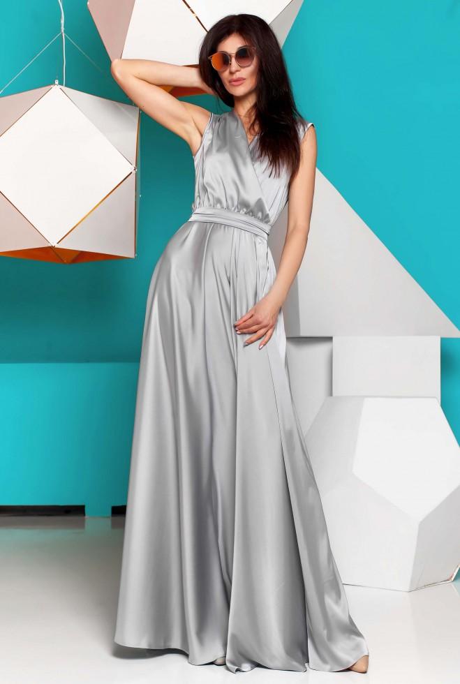 Платье Фурор стальной
