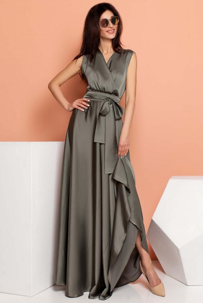 Платье Фурор хаки