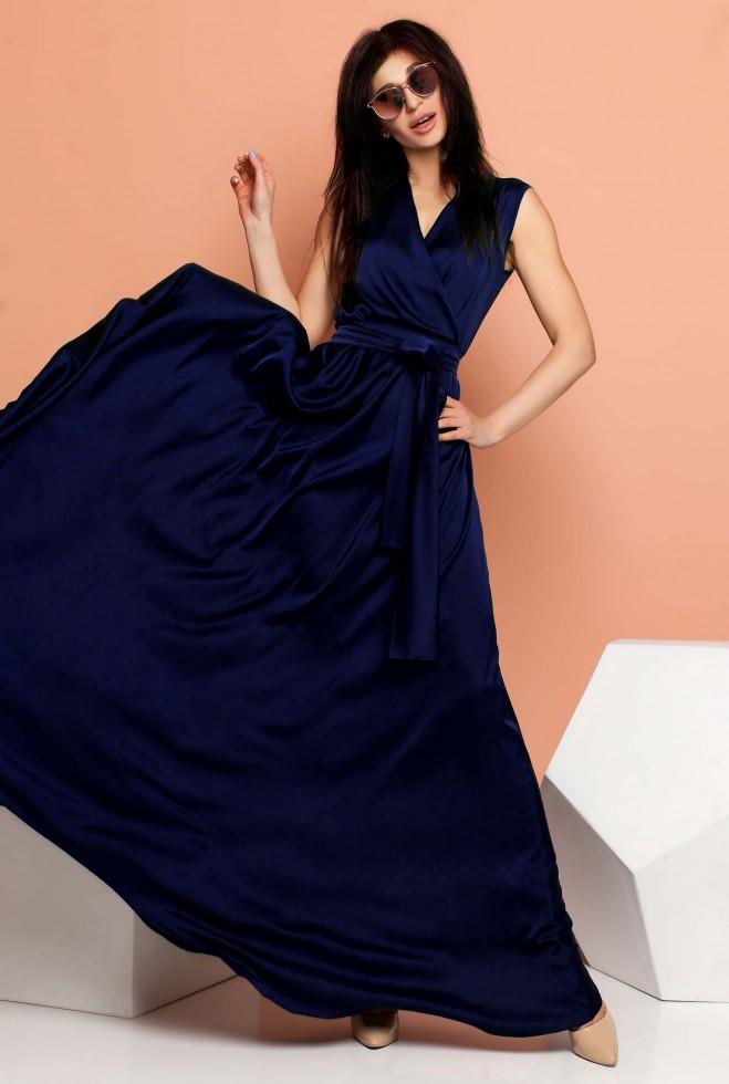 Платье Фурор тёмно-синий