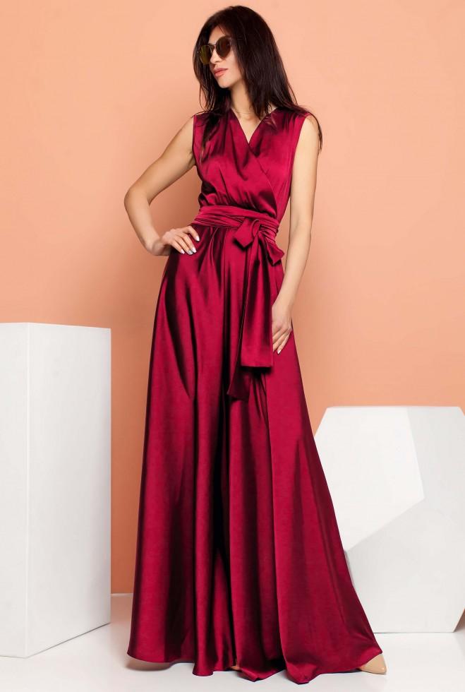 Платье Фурор винный