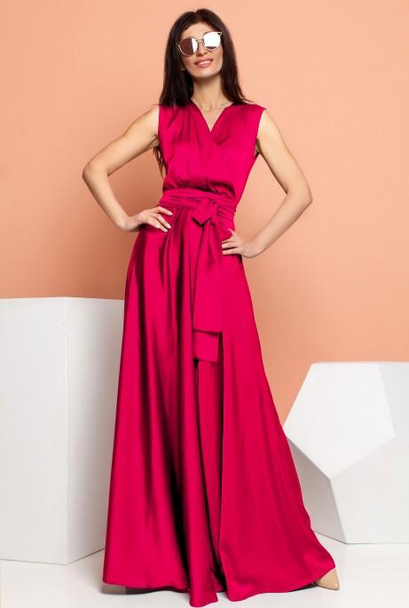 Платье Фурор малиновый