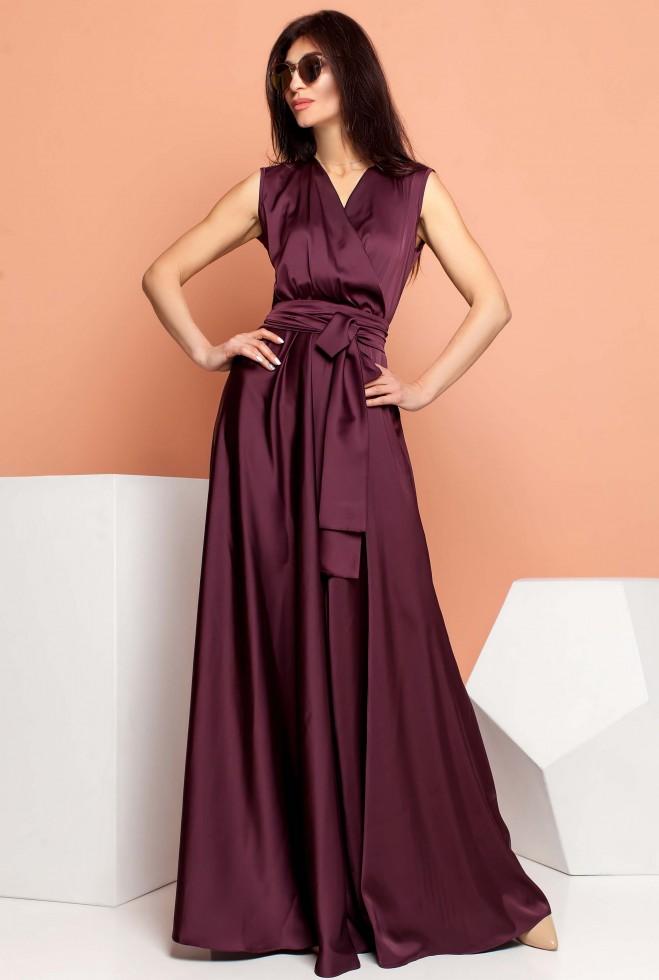 Платье Фурор марсала