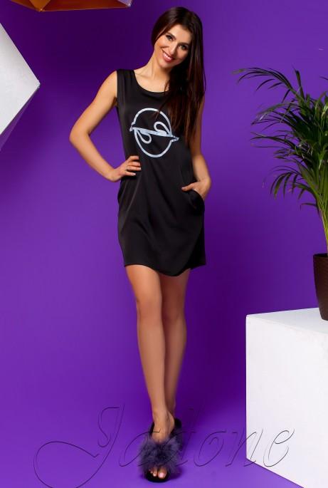Платье Карнелия черный