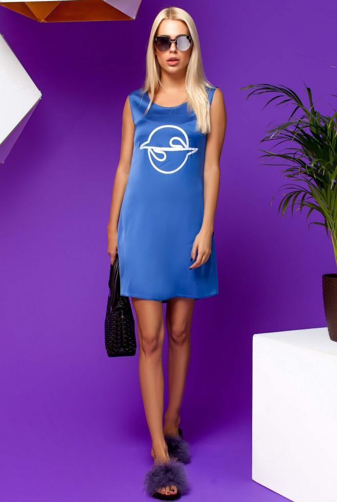Платье Карнелия синий