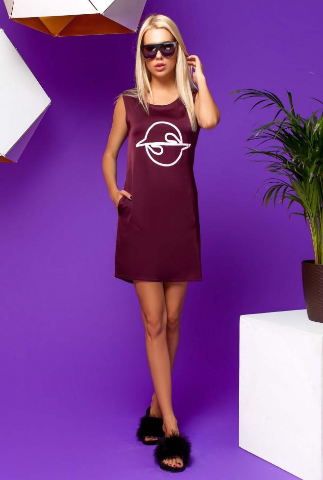 Платье Карнелия марсала