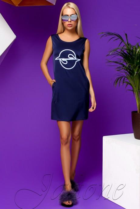 Платье Карнелия тёмно-синий