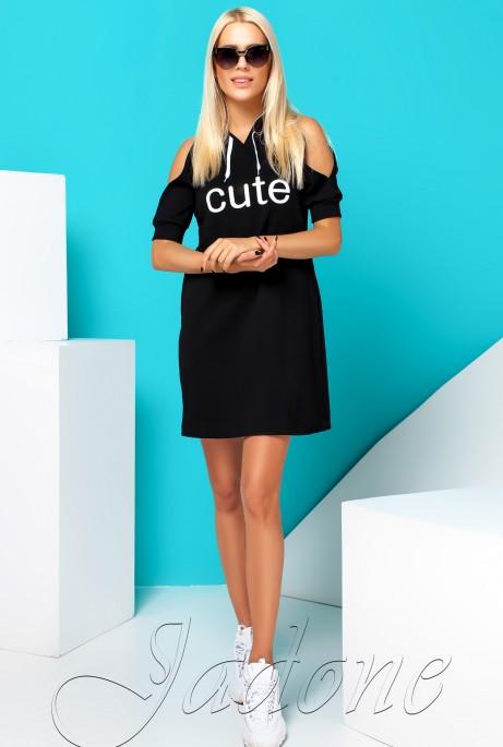 Платье Cute черный