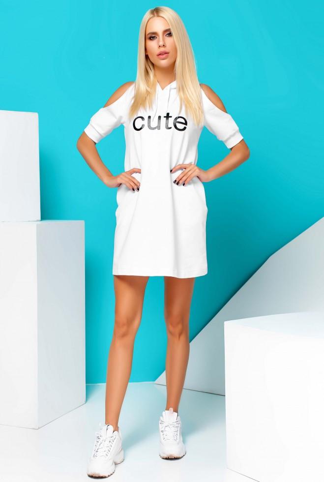 Платье Cute белый