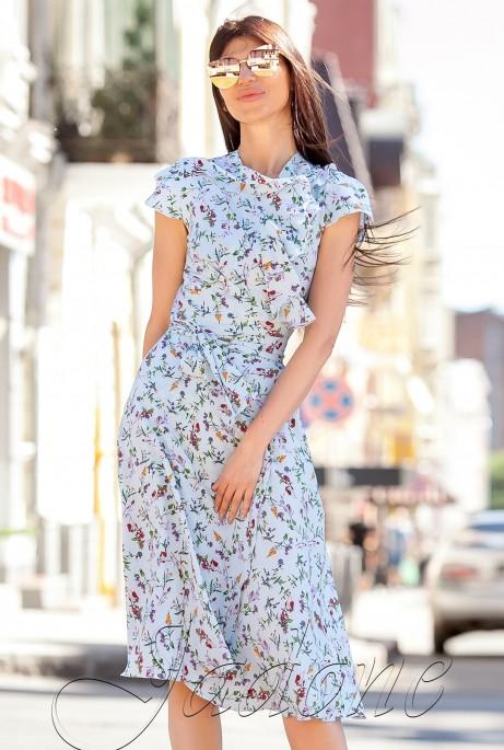 Платье Силин Мятный