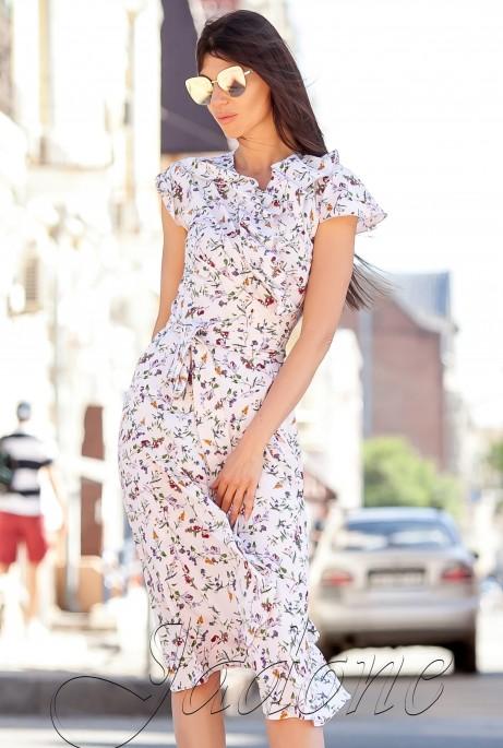 Платье Силин Светлый персик