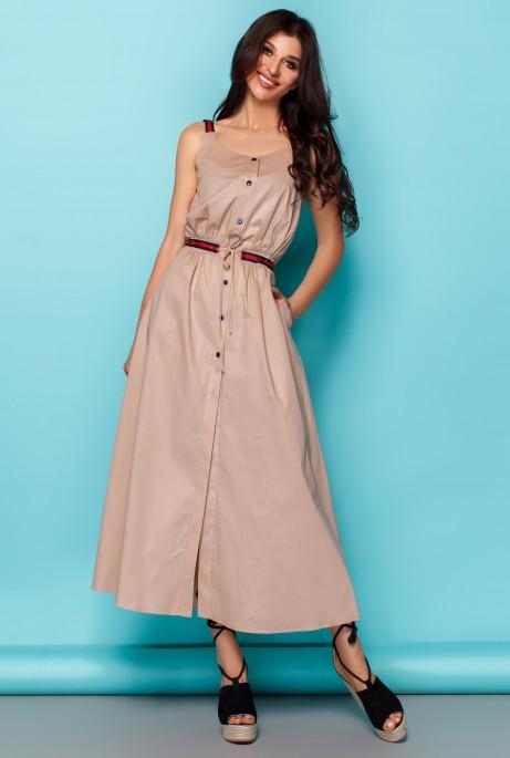 Платье Памела бежевый