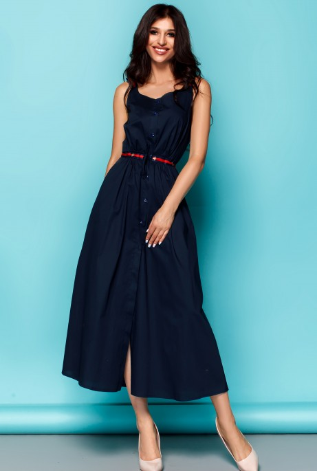 Платье Памела тёмно-синий