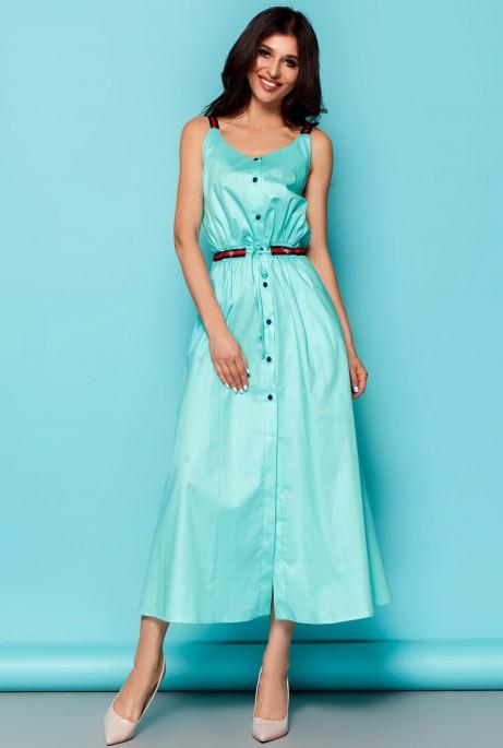 Платье Памела бирюзовый