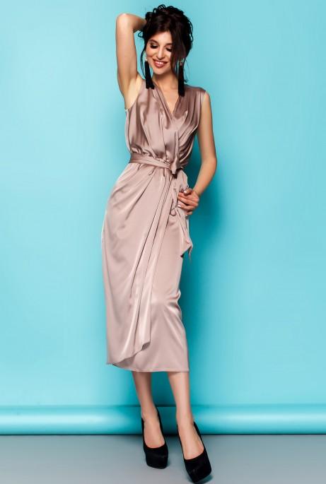 Платье Сати бежевый