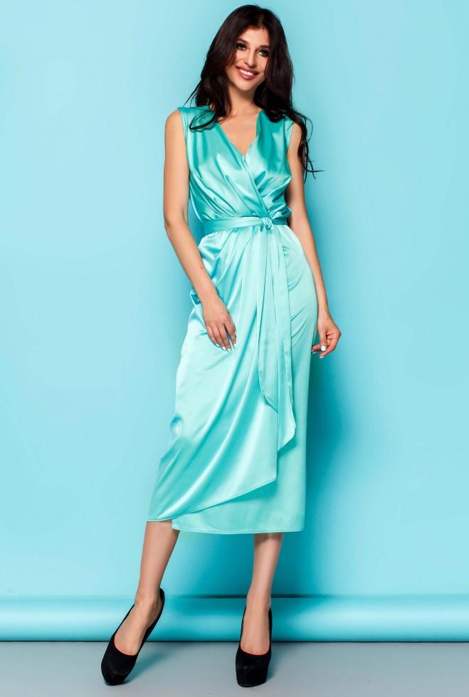Платье Сати бирюзовый