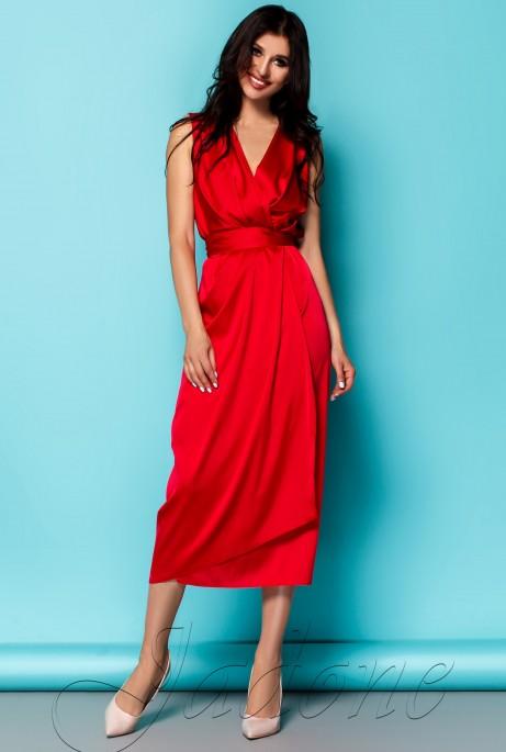 Платье Сати красный