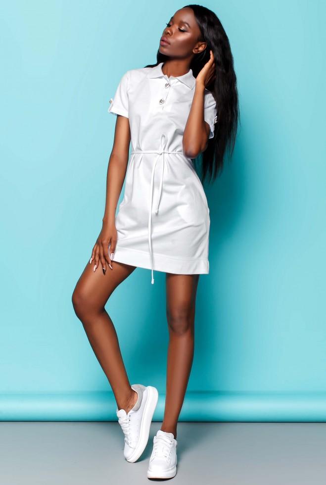 Платье Тарина белый