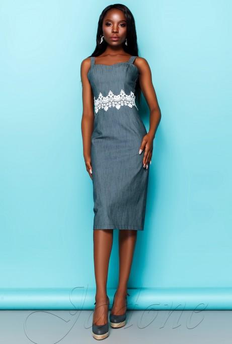 Платье Лиора синий