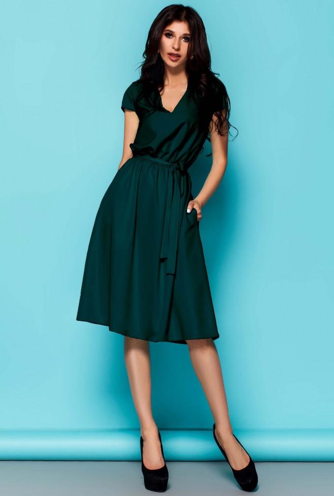 Платье Лина Изумруд