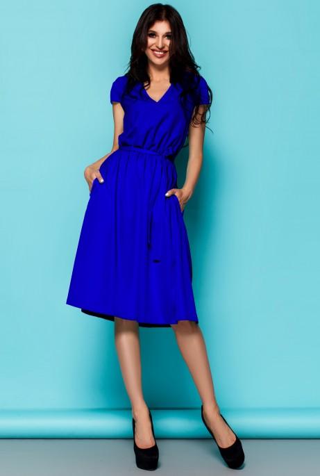 Платье Лина электрик