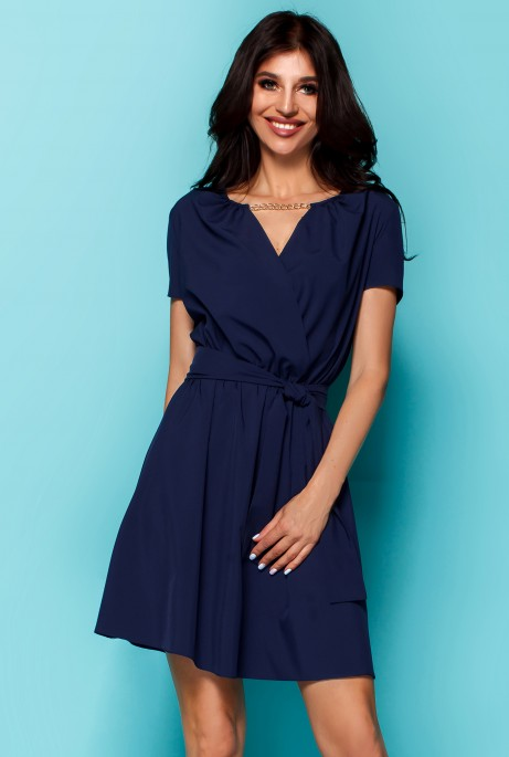 Платье Мелиса тёмно-синий