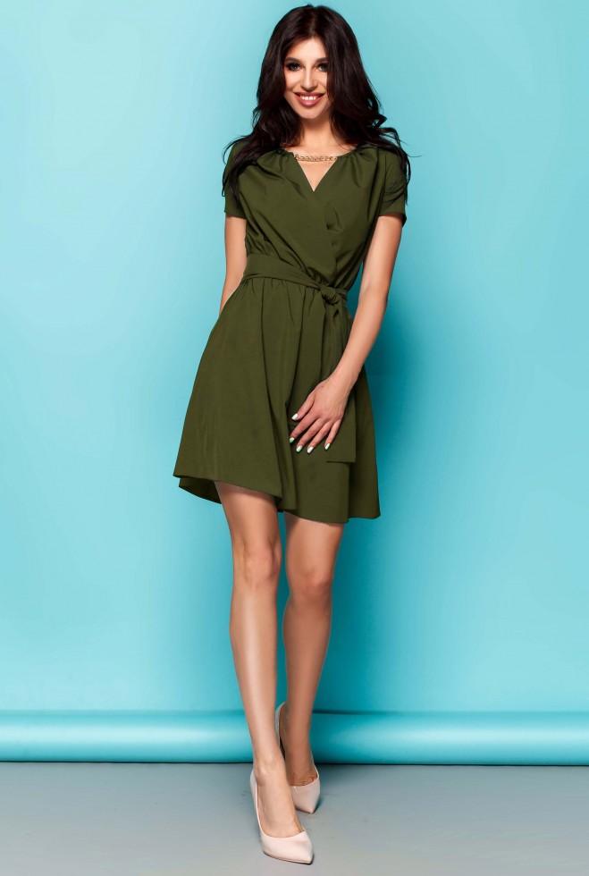 Платье Мелиса хаки Жадон