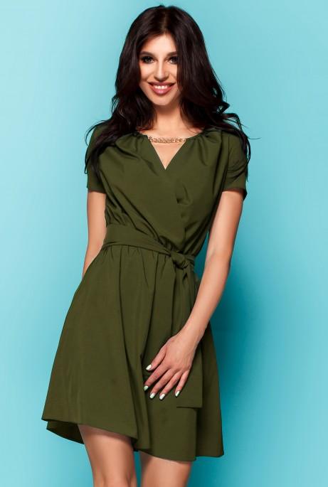 Платье Мелиса хаки