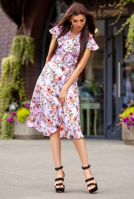 Платье Силин 1 Темный персик