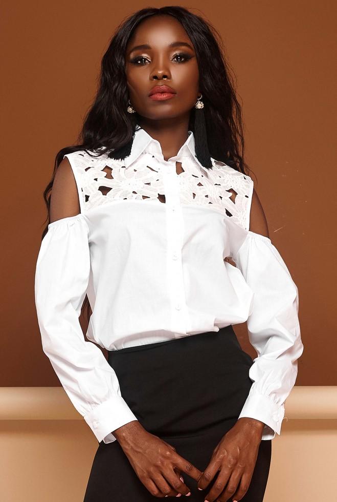 Блуза Бонни белый