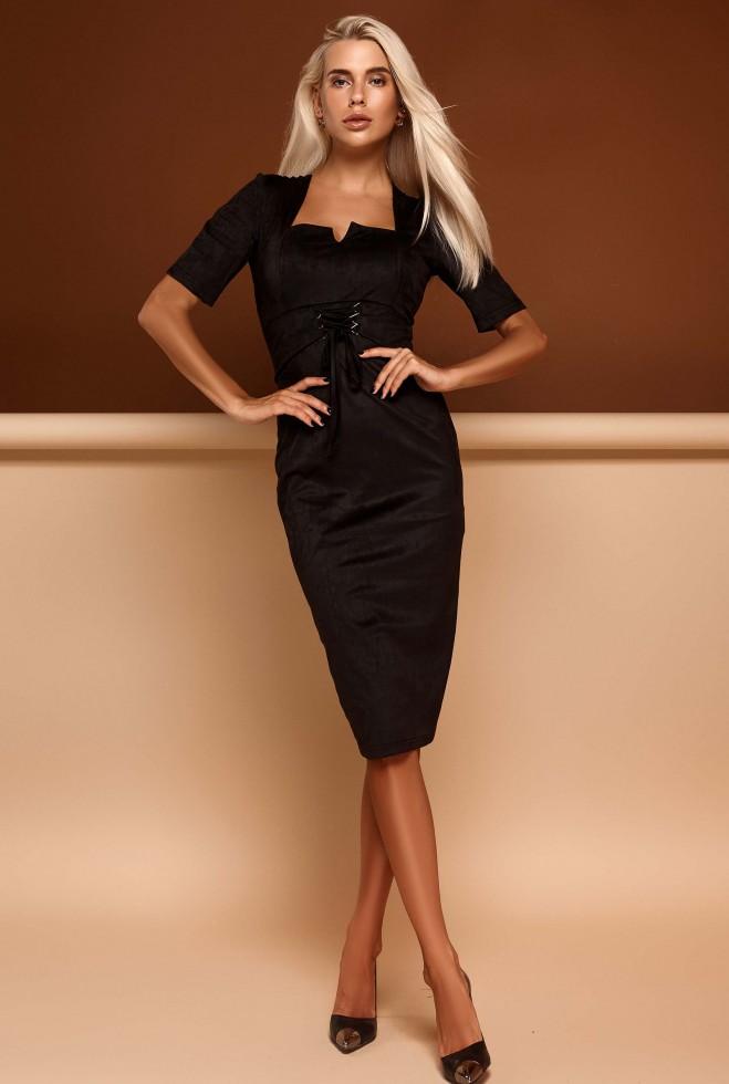 Платье Виолетта черный