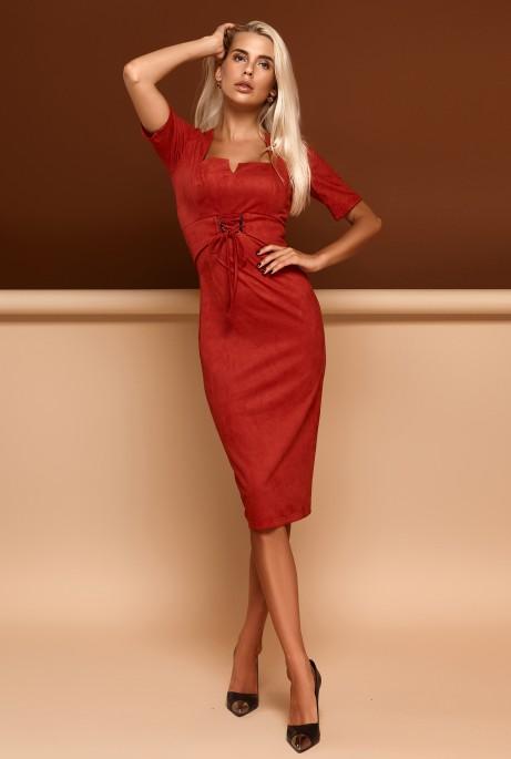 Платье Виолетта красный