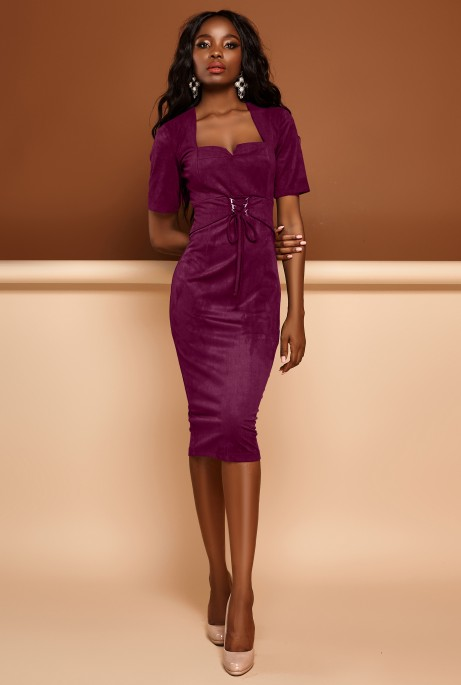 Платье Виолетта марсала